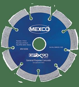 MEXCO 125 MM x 22.23 MM GPX GENERAL PURPOSE DIAMOND BLADE-0
