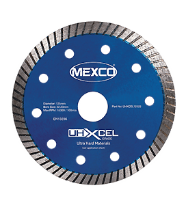MEXCO 115 MM x 22.23 MM DUAL PURPOSE TURBO DIAMOND BLADE-0
