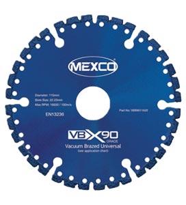 MEXCO 75 MM x 10 MM UNIVERSAL DIAMOND GRIT BLADE-0