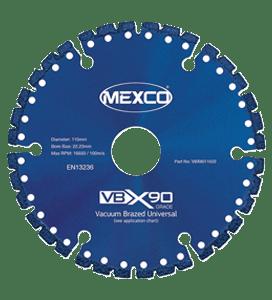MEXCO 115 MM x 22.23 MM UNIVERSAL DIAMOND GRIT BLADE-0