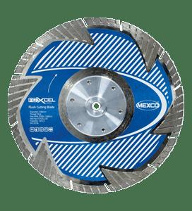 MEXCO 230 MM x M14 FLUSH CUTTING DIAMOND BLADE-0