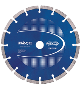 MEXCO 180 MM x 22.23 MM GPX GENERAL PURPOSE DIAMOND BLADE-0