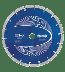 MEXCO 230 MM x 22.23 MM ABX10 ABRASIVE MATERIALS DIAMOND BLADE-0