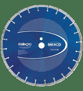 MEXCO 230 MM x 22.23 MM GPX GENERAL PURPOSE DIAMOND BLADE-0