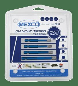 4 PIECE TDXCEL DIAMOND CERAMIC DRILL BIT KIT -0