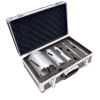 MEXCO 7 PIECE DCX90 SLOTTED DRY CORE DRILL KIT-0