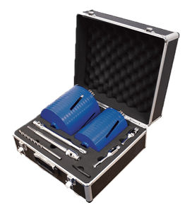 MEXCO 8 PIECE DCXCEL SLOTTED DRY CORE DRILL KIT-0