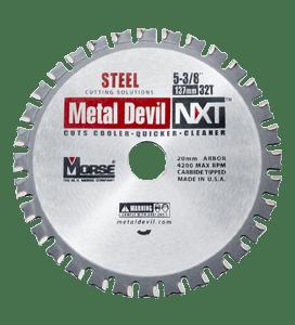 MORSE 137 MM TCT STEEL CUTTING CIRCULAR SAW BLADE 32T-0