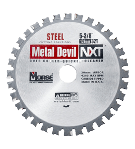 MORSE 178 MM TCT STAINLESS STEEL CUTTING SAW BLADE 44 T-0