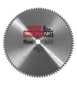 MORSE 356 MM TCT STAINLESS STEEL CUTTING SAW BLADE 90 T-0