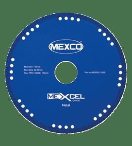 MEXCO 115 MM x 22.23 MM DIAMOND GRIT METAL CUTTING BLADE-0