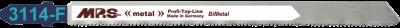 PACK 5 BI-METAL JIGSAW BLADE 21 TPI FOR SANDWICH MATERIALS 65 mm CUTTING DEPTH-0