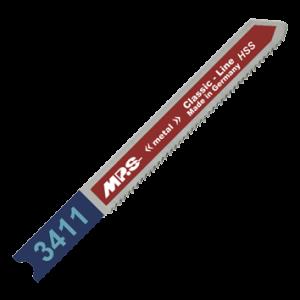 PACK 5 JIGSAW BLADE 21 TPI THIN CUTS IN METAL SHEETS 3 mm CUTTING DEPTH-0