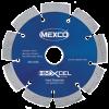 MEXCO 125 mm x 22.23 mm HMXCEL HARD MATERIALS DIAMOND BLADE-0
