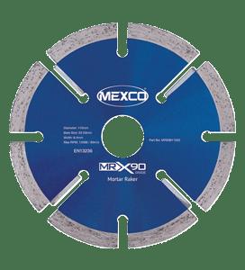 MRX90 125 mm DIAMOND MORTAR RAKER BLADE-0
