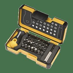 FELO STRONG BOX 30 BIT ERGONOMICALLY DESIGNED SCREW DRIVE SET-0