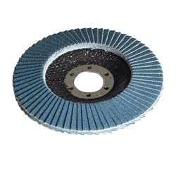 DL115 SIT 115 mm x 22 mm BORE 120 GIRT SINGLE ZIRCONIUMFLAP DISC-0