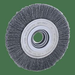 SIT 3122 x 125 mm x 17 mm x 16 mm 0.30 ABRASIVE CRIMPED STEEL WIRE WHEEL-0