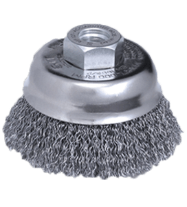 Crimped Wire Brushes T60 - T80 for Mini-Grinder