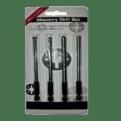 TWMBS4 MASONRY DRILL BIT SET 5.5, 6, 6.5, 7 mm-0